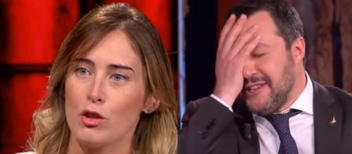 Maria Elena Boschi attacca Matteo Salvini e gli chiede di farsi un selfie.