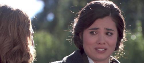 Maria sconvolta per l'addio di Gonzalo