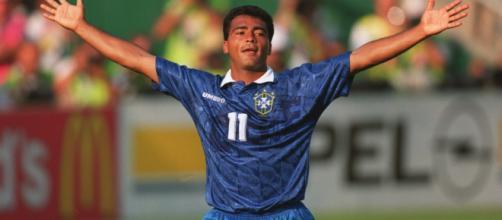 Romário chegou a ser campeão do mundo com a seleção brasileira. (Arquivo: Blasting News)