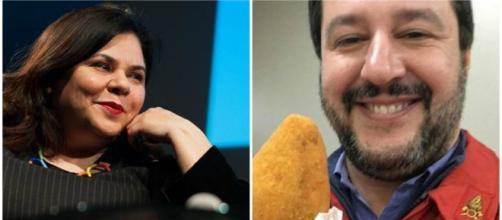 Salvini le dà della snob, Murgia replica: 'Paragoniamo i curriculum, lei è un fannullone' - vistanet.it