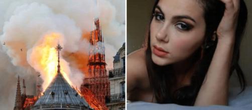 Valentina Nappi sull'incendio di Notre-Dame: 'Ho goduto nel vederla bruciare, Satana è fighissimo'