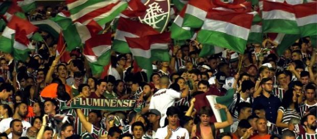 Fluminense perto de anunciar Kelvin (Foto: Lucas Merçon - www.fluminense.com.br)