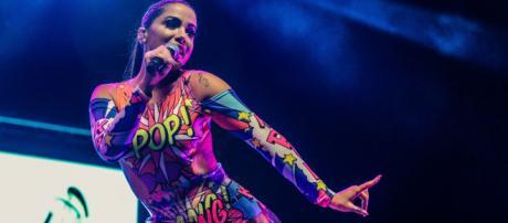 Anitta é a cantora latina mais ouvida do Spotify. (Arquivo Blasting News)