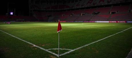 El partido entre Deportivo Lara y Emelec (Ecuador) por Copa Libertadores, fue suspendido debido al apagón del pasado 7 de marzo