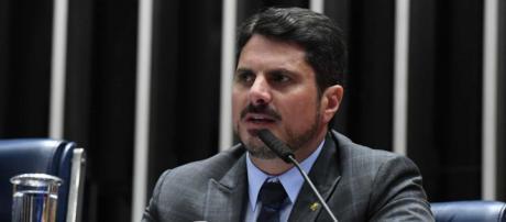Marcos do Val diz que sofreu ameaças por e-mail. (Marcos Oliveira/Agência Senado)