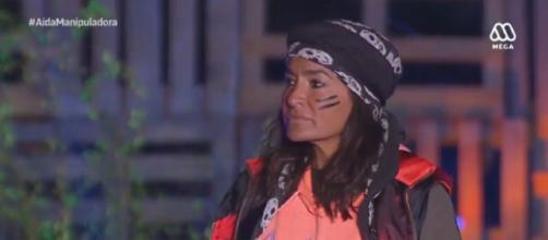 Aída Nízar, en el reality chileno 'Resistiré'. / MEGA