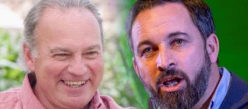 Bertín Osborne y Santiago Abascal en imagen