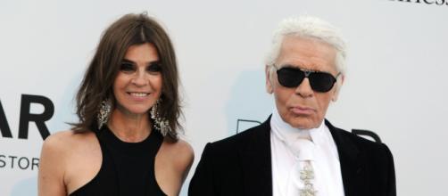 Carine Roitfeld est la nouvelle directrice du style de la marque Karl Lagerfeld
