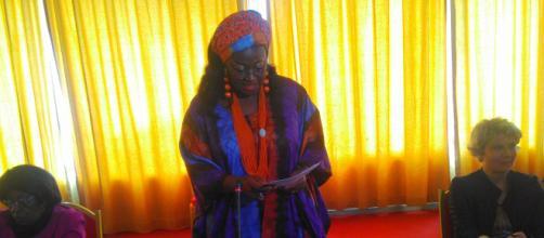 Célestine Ketcha Courtes Ministre de l'Habitat et du Développement Urbain du Cameroun © Odile Pahai