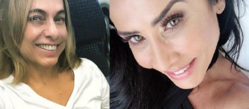 Cissa Guimarães e Scheila Carvalho (Reprodução/Instagram/@cissaguimaraes/@shecilacarvalhooficial)