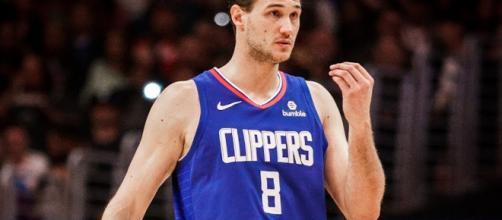 Danillo Gallinari led the Clippers to a road win over Denver on Sunday (Mar. 31). - [LA Clippers / YouTube screencap]