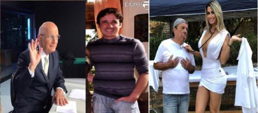Estes famosos nos deixaram em 2019 (Divulgação/Instagram/@boechatreal/@jubaronioficial/@joaoklebershowoficial)