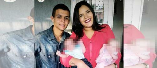 Homem matou a mulher na frente da filha no DF (Reprodução/TV Globo)