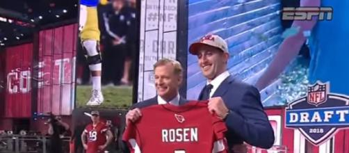 Josh Rosen had a disappointing rookie season with the Cardinals. [Source: Football Life/YouTube]