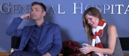 """Michelle Stamford left """"Y&R"""" for """"GH"""" and now is returning - Image credit - Axdroid   YouTube"""