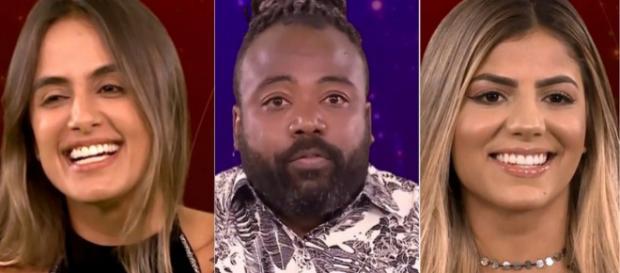 Paredão tem Hariany, Rodrigo e Carol (Reprodução/Gshow)