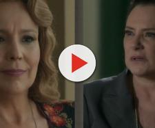 Mirtes e Ondina em O Sétimo Guardião. (Reprodução/ TV Globo)