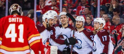 Colorado dio la sorpresa y eliminó a los Flames. - usatoday.com