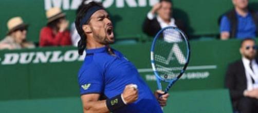 Fabio Fognini, finalista al Masters di Montecarlo dopo aver battuto Rafa Nadal