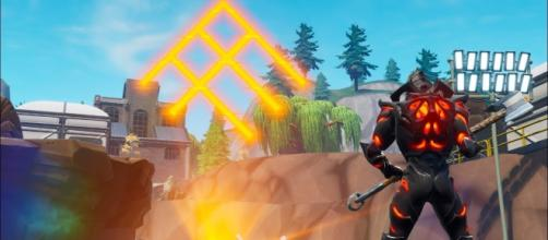 Mysterious Runes have appeared in Fortnite. [Image Source: in-game screenshot]