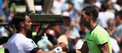 Nadal et Fognini se jouent pour la 15e fois au Masters 1000 de Monte-Carlo.