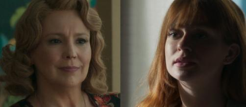 Ondina e Luz em 'O Sétimo Guardião'. (Reprodução/TV Globo)
