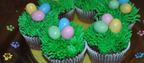 Ricetta per i cupcake di Pasqua.