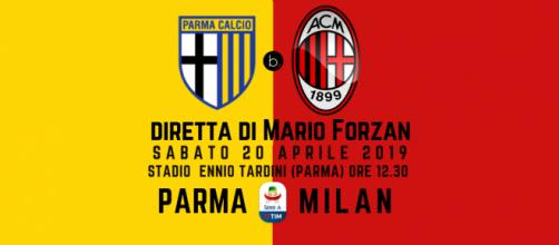 Serie A 33ma: Parma - Milan alle ore 12.30