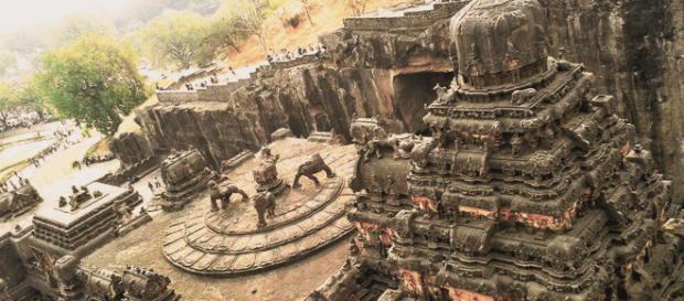 Este templo fue tallado en una sola roca. - ufoymisterios.es