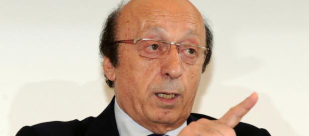 Luciano Moggi:'Parlare di fallimento della Juventus è una cosa comica'