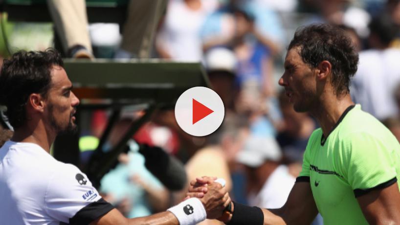 Nadal - Fognini : leurs 5 derniers duels en vidéos avant leur demi-finale à Monte-Carlo