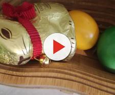 Coniglietto e uova sode pasquali