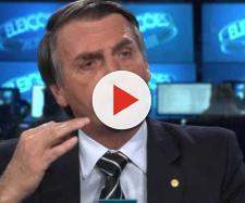 Bolsonaro rebate repórter da Globo. (Arquivo Blasting News)