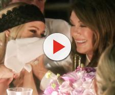 Lisa Vanderpump is seen laughing on 'RHOBH.' - [Photo via Bravo]