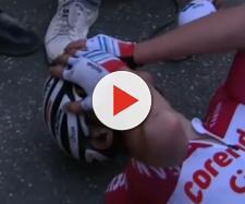 Mathieu Van der Poel, gioia e incredulità all'arrivo dell'Amstel Gold Race