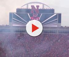 Nebraska football looking to get big offensive lineman. [Image via BriSchwab/YouTube]