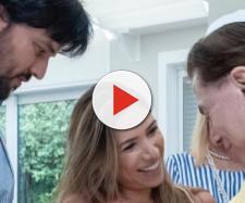 Patricia Abravanel, Fabio Farias e Silvio Santos. (Arquivo Blasting News)