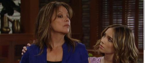 Alexis may spill a secret to keep Molly's mouth shut. [Image Source: GH Spoilers-YouTube]