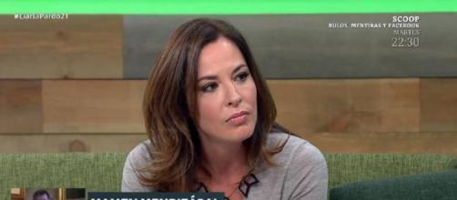 Mamen Mendizábal, en el programa de Cristina Pardo. / Atresmedia