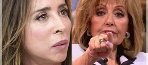 Maria Patiño y María Teresa Campos