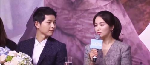 Song Hye Kyo, Song Joong Ki break-up rumors: Kyo's instagram activity makes fans nervous. Image credit:Anna Col/YouTube screenshot