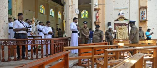 Sri Lanka sofre um ataque em domingo de Pascoa. (Arquivo Blasting News)
