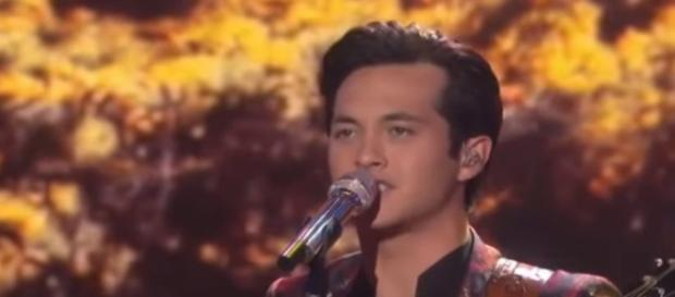 American Idol audiences loved Laine hardy and voted him into the Top 8 - Image credit - American Idol   YouTube