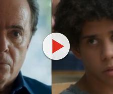 Olavo e Feijão entram em atrito. (Reprodução/TV Globo)