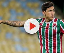 Pedro retornou ao Fluminense na quarta-feira, 17, em jogo da Copa do Brasil. (Divulgação/Lucas Merçon/Fluminense FC)