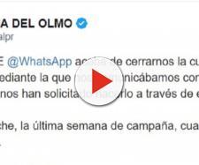 Tweet Juanma Del Olmo, de Podemos