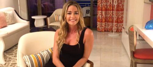 Denise Richards appears in a special Bravo TV interview. [Photo via Bravo TV]