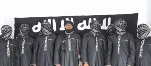 Estado Islâmico divulga imagem de supostos autores dos ataques no Sri Lanka. (Arquivo Blasting News)