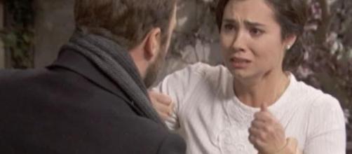 Il Segreto, trame: Maria scopre che Esperanza e Beltran hanno avuto un incidente