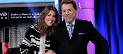 Rebeca Abravanel e Silvio Santos (Arquivo Blasting News)
